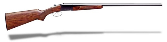 "Picture of Stoeger Industries IGA Uplander Field Side-by-Side Shotgun - .410"", 3"", 26"", Blued, Blued, A-Grade Satin Walnut Stock, Brass Bead Front Sight, Fixed Full, Double Trigger"