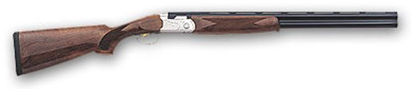 """Picture of Beretta 686 Silver Pigeon I Over/Under Shotgun - 20Ga, 3"""", 28"""", Cold Hammer Forged, Blued, Selected Walnut Stock, MobileChoke (C,IC,M,IM,F)"""
