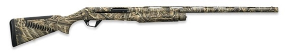 "Picture of Benelli Super Black Eagle II Semi-Auto Shotgun - 12Ga, 3.5"", 28"", MAX-5 ComforTech Synthetic Stock, 3rds, Red-Bar Front & Metal Mid-Bead Rear Sights, CrioChoke Flush (C,IC,M,IM,F)"