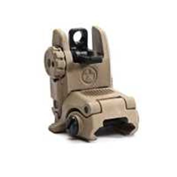Picture of Magpul Sights - MBUS, Rear, Gen 2, Flat Dark Earth