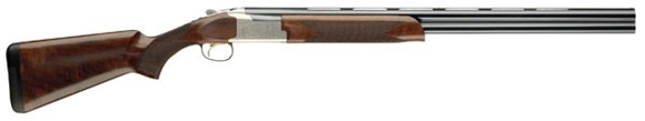 "Picture of Browning Citori 725 Field Over/Under Shotgun - 12Ga, 3"", 28"", Vented Rib, Polished Blued, Silver Nitride Finish Low-Profile Steel Receiver, Gloss Oil Grade II/III Black Walnut Stock, Ivory Front & Mid-Bead Sights, Invector-DS Flush (F,M,IC)"