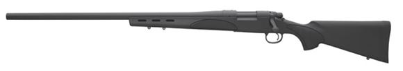 "Picture of Remington Model 700 SPS Varmint Bolt Action Rifle, Left Hand - 308 Win, 26"", Heavy-Contour, Matte Blue, Black Synthetic SPS Varmint Stock w/Vented Beavertail Fore-End, 4rds, X-Mark Pro Adjustable Trigger"