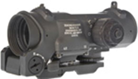 Picture of Raytheon ELCAN Dual Role Combat Sights - SpecterDR 1-4x, 5.56 Caliber STD, 5 Intensity Levels, 1/2 MOA Click Value, Waterproof 66 ft For 2 Hours & Shockproof 450 G's, DL 1/3 N / 300 Hours @ Max Brightness, Black Anodized