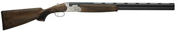 """Picture of Beretta 686 Silver Pigeon I Sporting Over/Under Shotgun - 12Ga, 3"""", 28"""", Cold Hammer Forged, Blued, Floral Engraving Receiver, Selected Walnut Stock, OptimaChoke HP Flush (SK,C,IC,M,IM)"""