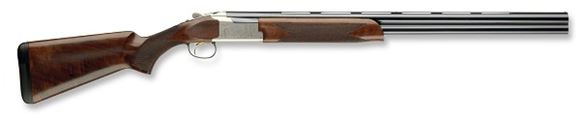 """Picture of Browning Citori 725 Field Over/Under Shotgun - 20Ga, 3"""", 26"""", Vented Rib, Polished Blued, Silver Nitride Engraved Low-Profile Steel Receiver, Gloss Oil Grade II/III Black Walnut Stock, Ivory Bead Front & Mid-Bead Sights, Invector-DS Flush (F,M,IC)"""