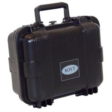 "Picture of Boyt Gun Cases, Hard Gun Cases - H-11 Single Handgun/Ammo Case, 13"" x 11"" x 6"", Black"