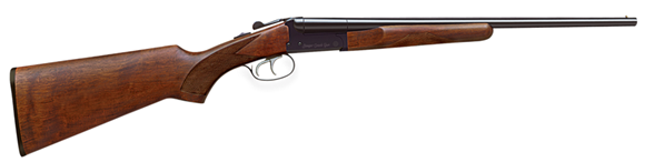 """Picture of Stoeger Industries IGA Coach Gun Side-by-Side Shotgun - 20Ga, 3"""", 20"""", Blued, A-Grade Satin Walnut Stock, Brass Bead Front Sight, Fixed (IC,M), Double Trigger"""
