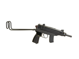 """Picture of Czech Small Arms (CSA) Sa vz. 61 Scorpion Carbine Semi-Auto Rifle - 7.65mm Browning (32 ACP), 4.5"""", Blued, Folding Stock, 1x5/10rds & 2x5/20rds"""