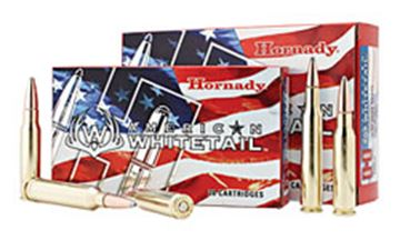 Picture of Hornady American Whitetail Rifle Ammo - 308 Win, 150Gr InterLock SP American Whitetail, 20rds Box