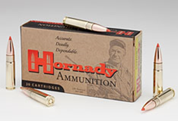 Picture of Hornady Custom Rifle Ammo - 300 Whisper, 110Gr, V-MAX, 20rds Box