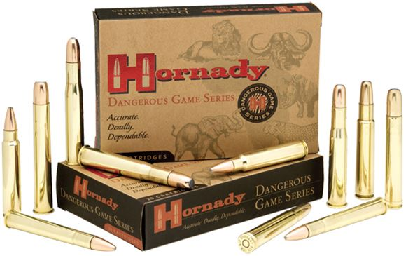 Picture of Hornady Dangerous Game Rifle Ammo - 458 Win Mag, 500Gr, DGX Superformance, 20rds Box