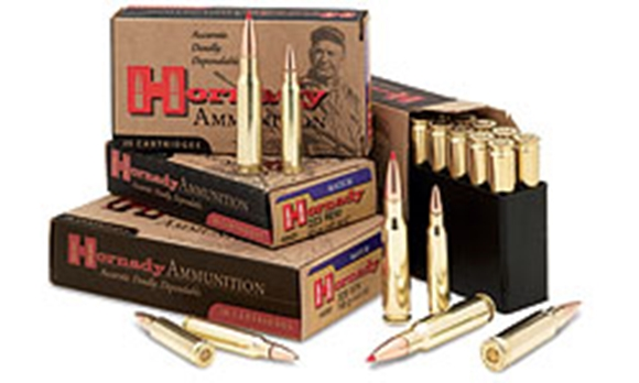 Picture of Hornady Match Rifle Ammo - 308 Win, 168Gr, BTHP, 200rds Case