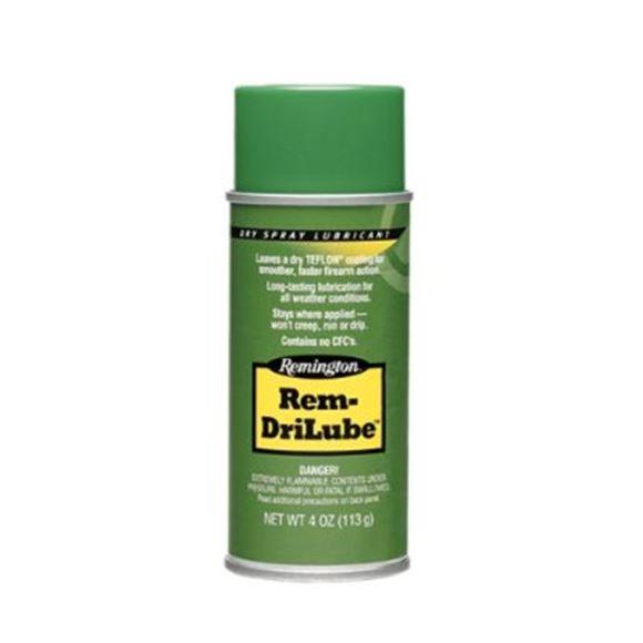 Picture of Remington Gun Care, Oils & Lubricants - Rem DriLube, 4oz Aerosol, Bi-Lingual/Health Canada Approved