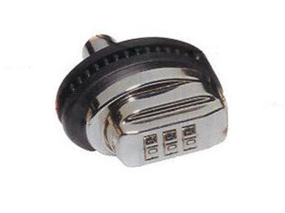 Picture of Franzen Security Firearm Locks - Combination Trigger Lock, Nickel