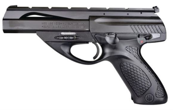 "Picture of Beretta U22 Neos Rimfire Semi-Auto Pistol - 22 LR, 6"", Blued, Polymer Grip, 2x10rds, Target Sights"