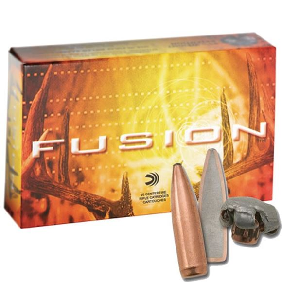 Picture of Federal Fusion Rifle Ammo - 30-06 Sprg, 170Gr, Fusion Lite, 20rds Box