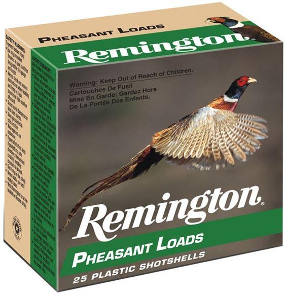 "Picture of Remington Upland Loads, Pheasant Loads Shotgun Ammo - 12Ga, 2-3/4"", 3-3/4 DE, 1-1/4oz, #6, 250rds Case, 1330fps"