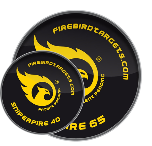 Picture of Firebird Exploding Targets, For Air Rifles (Less Noise) - AirFlash 40mm Quiet Reactive Targets, 10-Pack