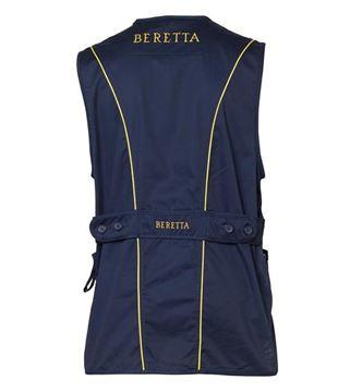 Picture of Beretta Men's Clothing, Vests - Beretta Silver Pigeon Vest, Adult, Navy, XL