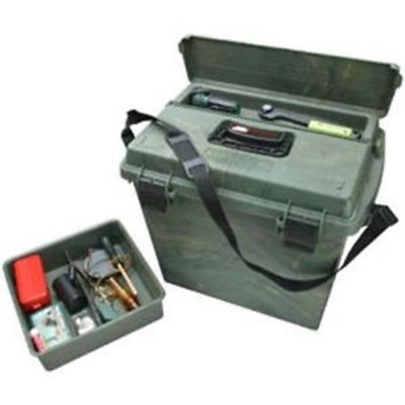 "Picture of MTM Case-Gard Dry Boxes, Sportsmen's Plus Utility Dry Boxes - SPUD 6, 18.5""x13""x10"", Wild Camo"