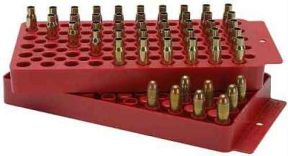 Picture of MTM Case-Gard Reloading, Universal Loading Tray - 50rds, 2-Sided, Red