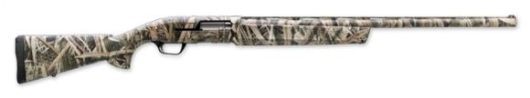 """Picture of Browning Maxus Mossy Oak Shadow Grass Blades Semi-Auto Shotgun - 12Ga, 3-1/2"""", 26"""", Vented Rib, Lightweight Profile, Mossy Oak Shadow Grass Blades, Aluminum Alloy Receiver, Dura-Touch Armor Coating Composite Stock, 4rds, Fiber Optic Front & Ivory Mid Bead"""