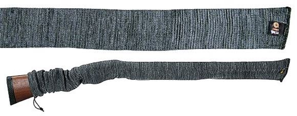 """Picture of Allen Shooting Gun Cases, Socks & Sleeves - Knit Gun Sock, 52"""", Silicone Treated, Gray"""