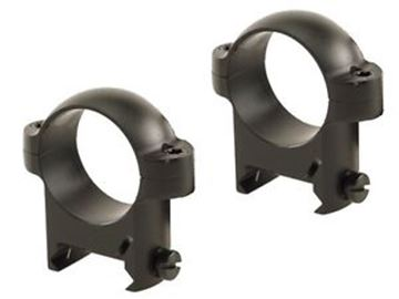 """Picture of Burris Mounting Systems, Rings, Zee Rings - 1"""", Low, Solid Steel, Matte, Solid Steel"""