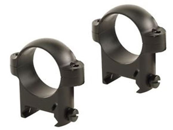 Picture of Burris Mounting Systems, Rings, Zee Rings - 30mm, High, Solid Steel, Matte