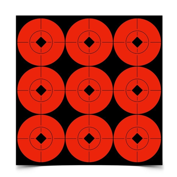 """Picture of Birchwood Casey Targets, Target Spots Targets - Target Spots 2"""" Target, 90 Targets"""
