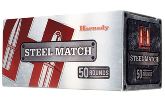 Picture of Hornady Steel Match Rifle Ammo - 223 Rem, 55Gr, HP Steel Match, 500rds Case
