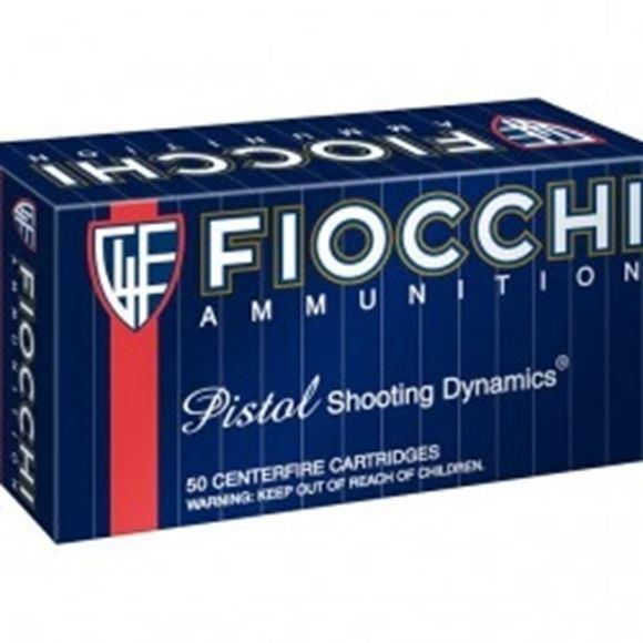 Picture of Fiocchi Pistol & Revolver Ammo - 357 Mag, 142Gr, FMJTC, 50rds Box