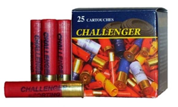 """Picture of Challenger Target Loads Shotgun Ammo - Target, .410"""", 2-1/2"""", 1/2 oz, #8, 500rds Case, 1200fps"""