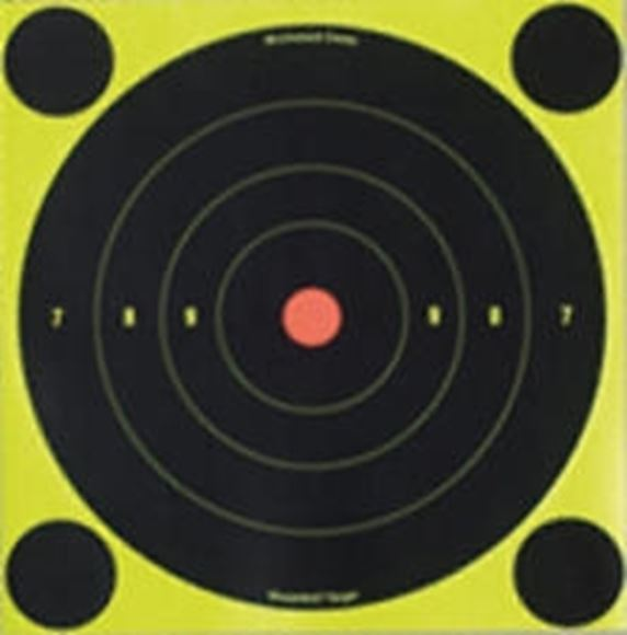 "Picture of Birchwood Casey Targets, Shoot-N-C Targets - Shoot-N-C 6"" Bull's-Eye Target, 12 Targets"