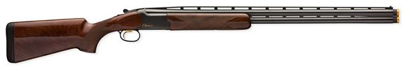 "Picture of Browning Citori CX Over/Under Shotgun - 12Ga, 3"", 32"", Lightweight Profile, High Post Vented Rib, High Polished Blued, High Polished Blued Steel Receiver, Gloss Grade II American Black Walnut Stock, Ivory Bead Front & Mid-Bead Sights, Invector-Plus Midas"