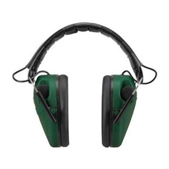 Picture of Caldwell Shooting Supplies Hearing & Eye Protection - E-Max Low Profile Electronic Hearing Protection, 23 NRR, (2xAAA)