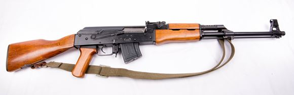 Picture of Used Norinco Type 56s Semi-Auto 7.62x39mm, 12.5 Class Prohibited AK-47, One 5rd Mag, Good Condition