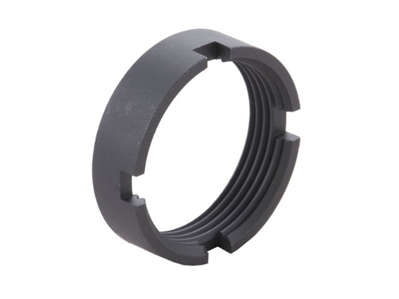 Picture of DPMS Panther Arms AR/LR Platform Part, Lower Receiver Part - Car Stock Lock Ring With Notch Castle Nut