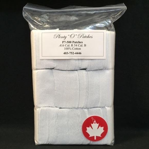 "Picture of Plenty ""O"" Patches Cotton Patches - .416 Caliber R, .54 Caliber BP, 500pcs"