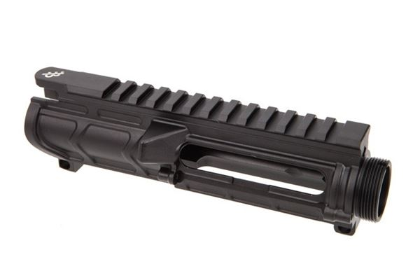 Picture of Primary Weapons Systems (PWS)  Bootleg - Light Weight Upper Receiver, 7075 Aluminum, Type 2 Hard Anodizing, 6.2oz, Black