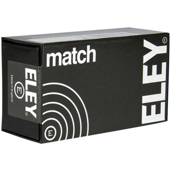 Picture of ELEY Rimfire Ammo - Match, 22 LR, 40Gr, Flat Nose, 1060ft/s, 5000rds Case