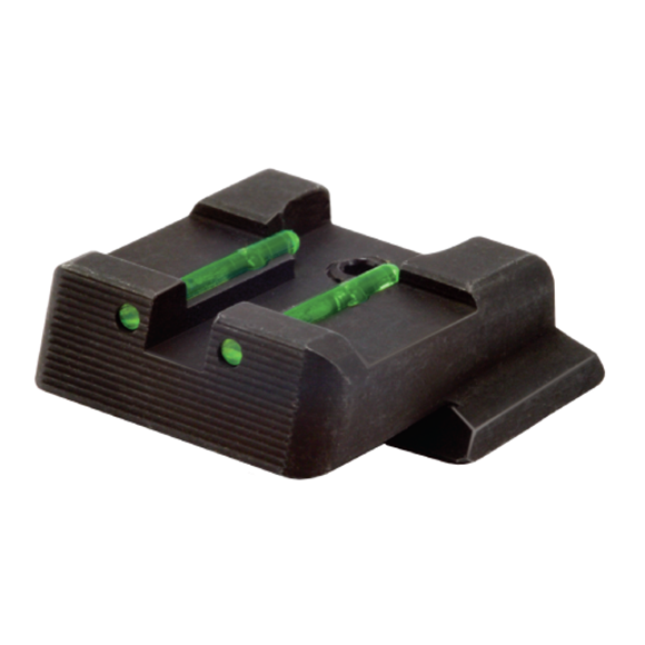 Picture of HiViz Handgun Sights, Smith & Wesson, Rear Sights - Fiber Optic Rear Sight, Green, For S&W M&P
