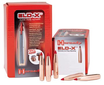 """Picture of Hornady Rifle Bullets, ELD-X - 30 Caliber (.308""""), 200Gr, ELD-X, 100ct Box"""