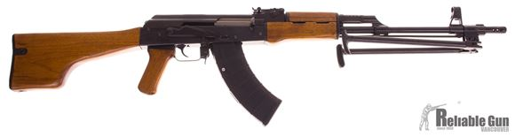 Picture of Used Norinco Model 87S Semi-Auto 7.62x39, 12.5 Class Prohibited, Squad Style AK-47 With Bipod, Two 5/30rd Magazines, 1 5rd Magazine, Excellent Condition