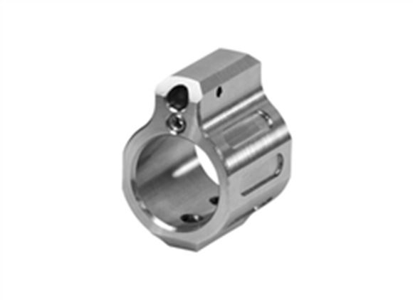 Picture of Odin Works Tuneable Gas Block - Low Profile, .750 Barrel, 303 Stainless, Front Facing Tuning Screws