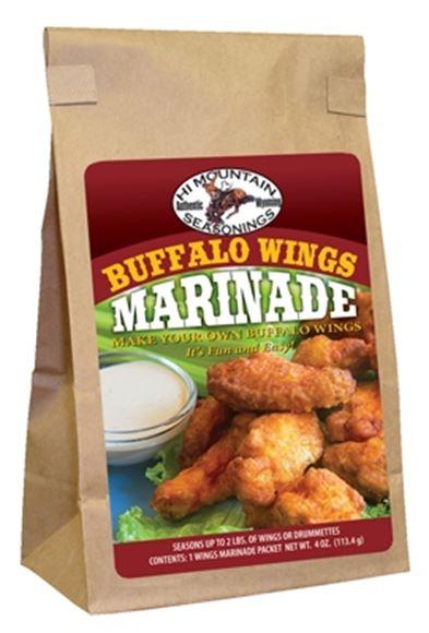 Picture of Hi Mountain Seasoning - Ailes Buffalo Wing Marinade, 113.4G
