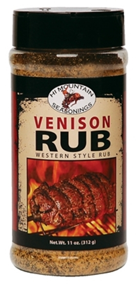 Picture of Hi Mountain Seasoning - Authentic Wyoming Western Style Venison Rub, 312g Jar