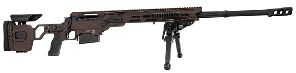 """Picture of Cadex Defense CDX-30 GUARDIAN Rifle - 308 win, 20"""", 1-11.25"""" Twist, Hybrid Shadow Stealth, DX2 Trigger, Oversized Cross Hatch Bolt Knob, 10rds, Skeleton Buttstock, 20 MOA Rail *INCLUDES FREE MUZZLE BRAKE*"""