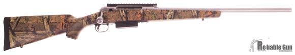 "Picture of Used Savage 220 Bolt Action Shotgun,  20-Gauge, 22"" Stainless Barrel, Camo Stock, Salesman Sample"