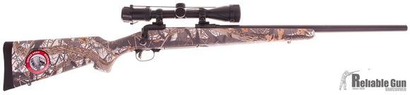 "Picture of Savage 11 Trophy Predator Bolt Action Rifle - .223 Rem, 22"" Blued Medium Contoured Barrel, 4rd Mag, Accutrigger, Camo Stock, Salesman Sample"